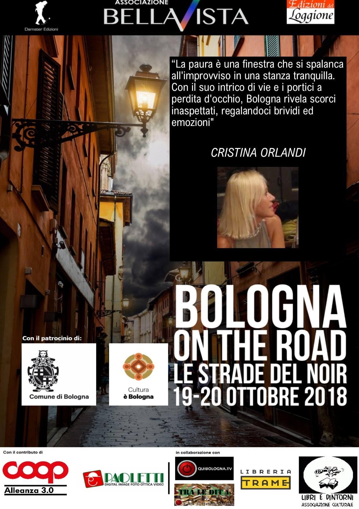 Le strade del noir, Bologna, 20 ottobre 2018